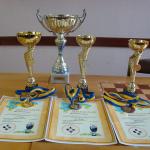 Перехідний приз та особисті нагороди переможців IV –го Всеукраїнського шахового турніру «Меморіал Анатолія Єрмака»: дипломи, медалі, призи.